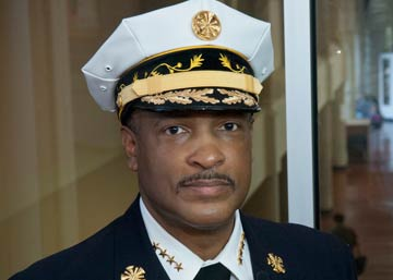 Philadelphia Fire Commissioner Derrick Sawyer