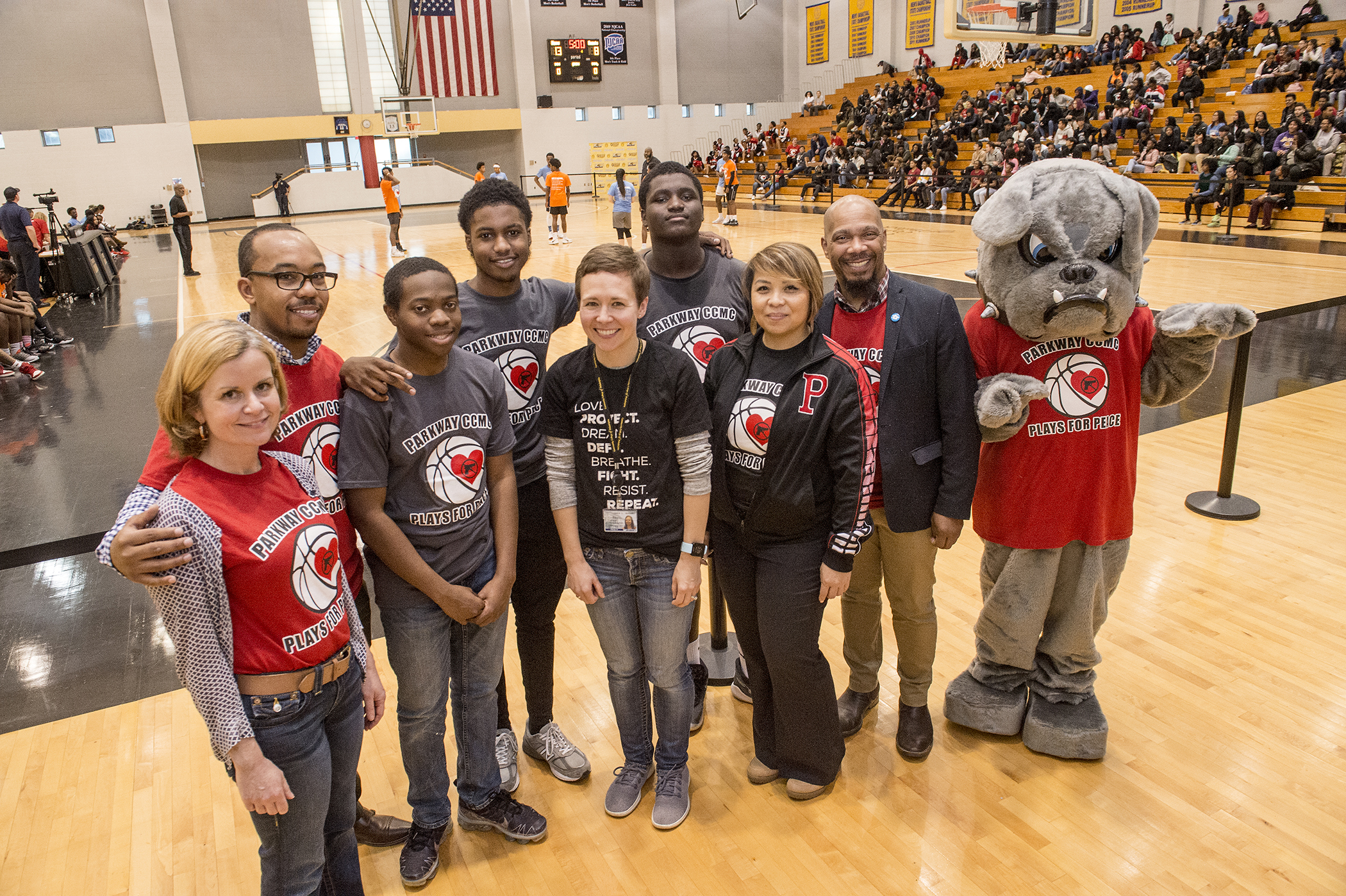 Parkway Students and Faculty