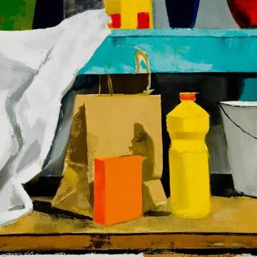 Oliver Murray Still Life, 2001 Oil on canvas — 20H x 26W Founder's Award Student Purchase