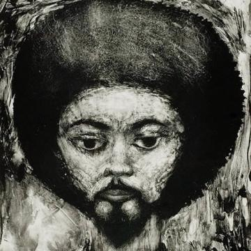 "Jerome Kaplan Jive Dude, 1972 Intaglio — 22""H x 16""W Gift of M. Lindsay Kaplan and Norman Eisen"