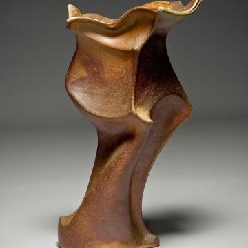 Kyung Lee Untitled, 2002 Wood-fired ceramic sculpture – 18;H x 9D