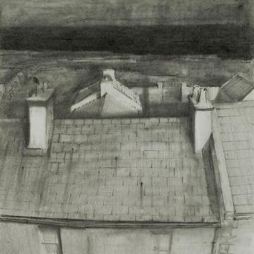 Randall Exon Doonfeeny, 2004 Graphite on paper — 8.5H x 8.5W