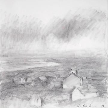 Randall Exon Ballycastle, 2004 Graphite on paper — 10H x 9.5W