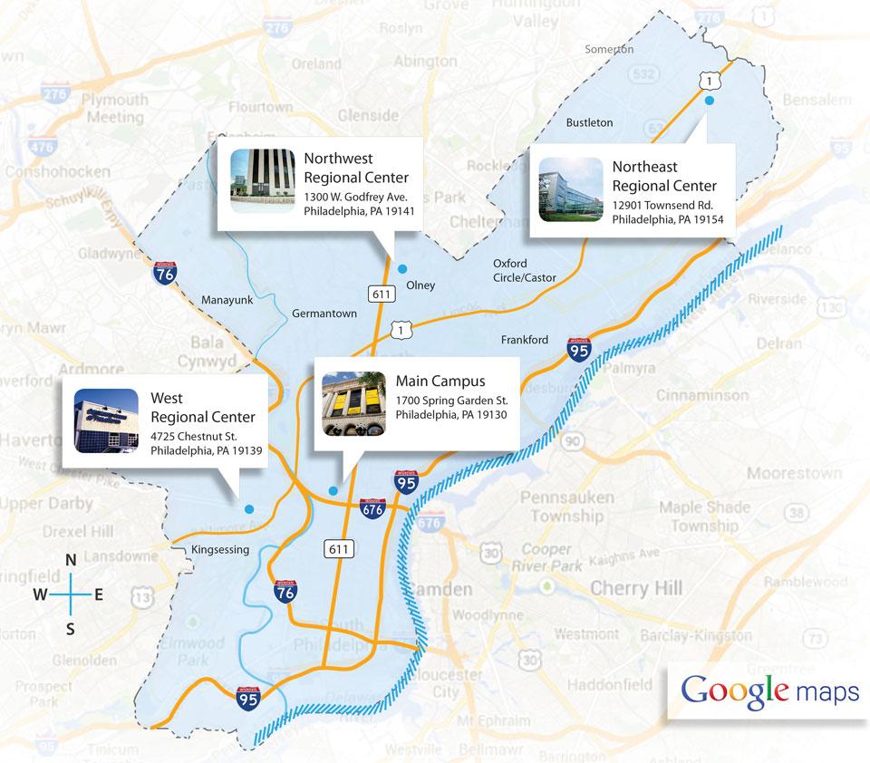 Locations | Community College of Philadelphia