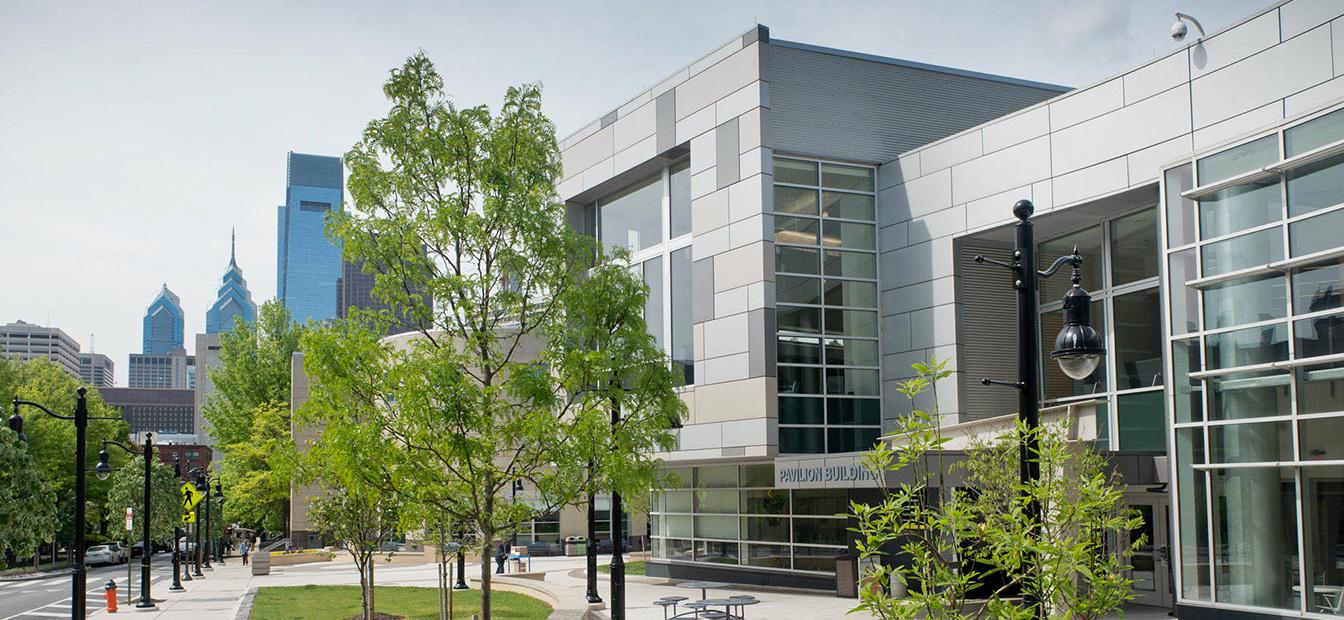 Pavilion building exterior