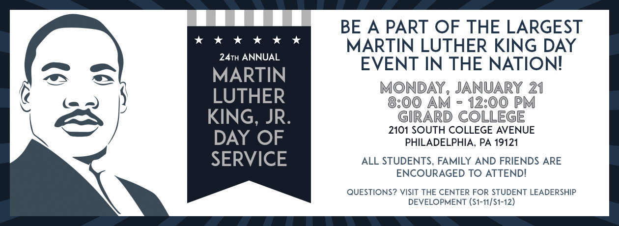 24th Annual Martin Luther King Jr Day Of Service Community
