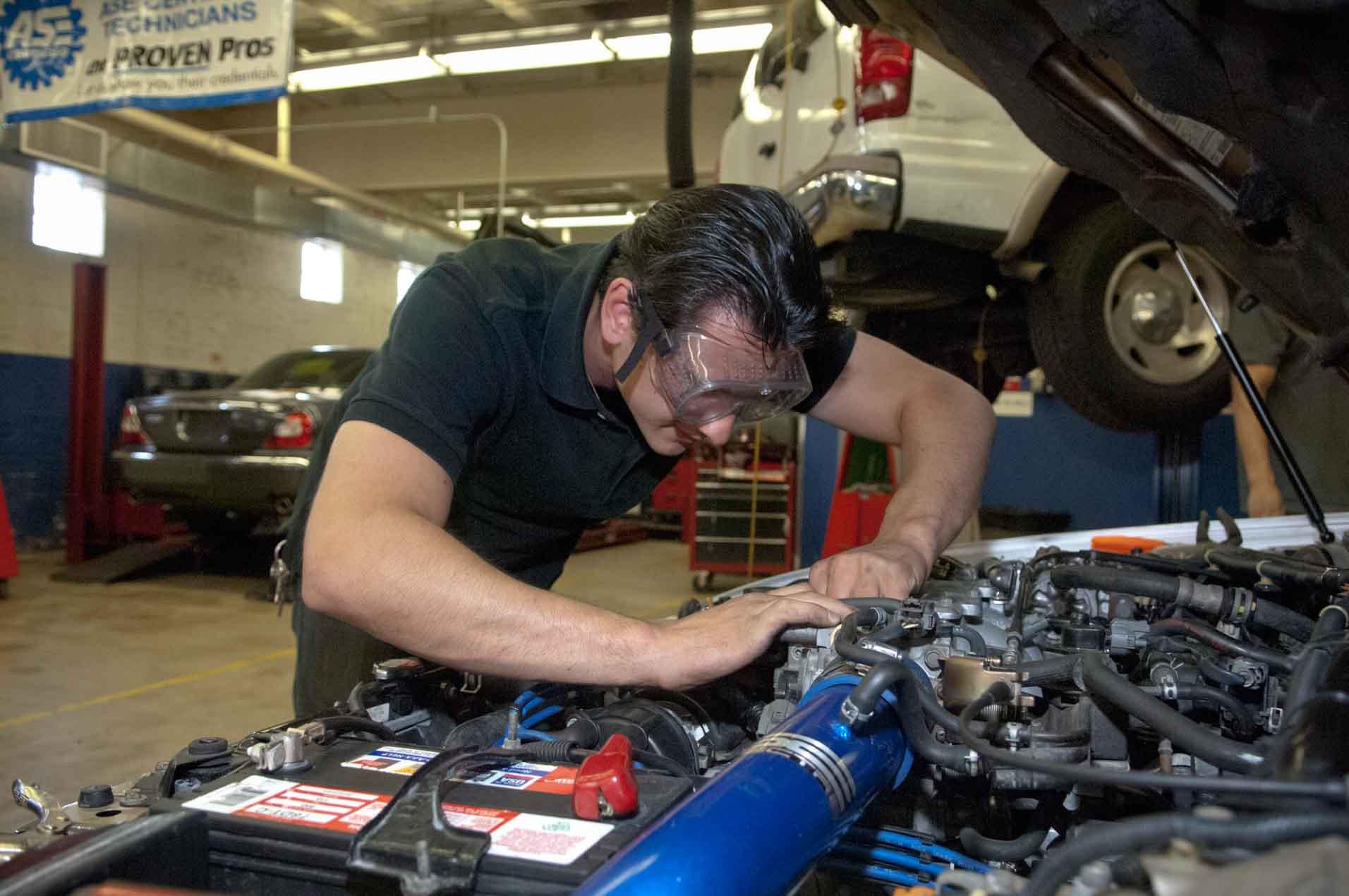 Automotive Service I Proficiency Certificate Community