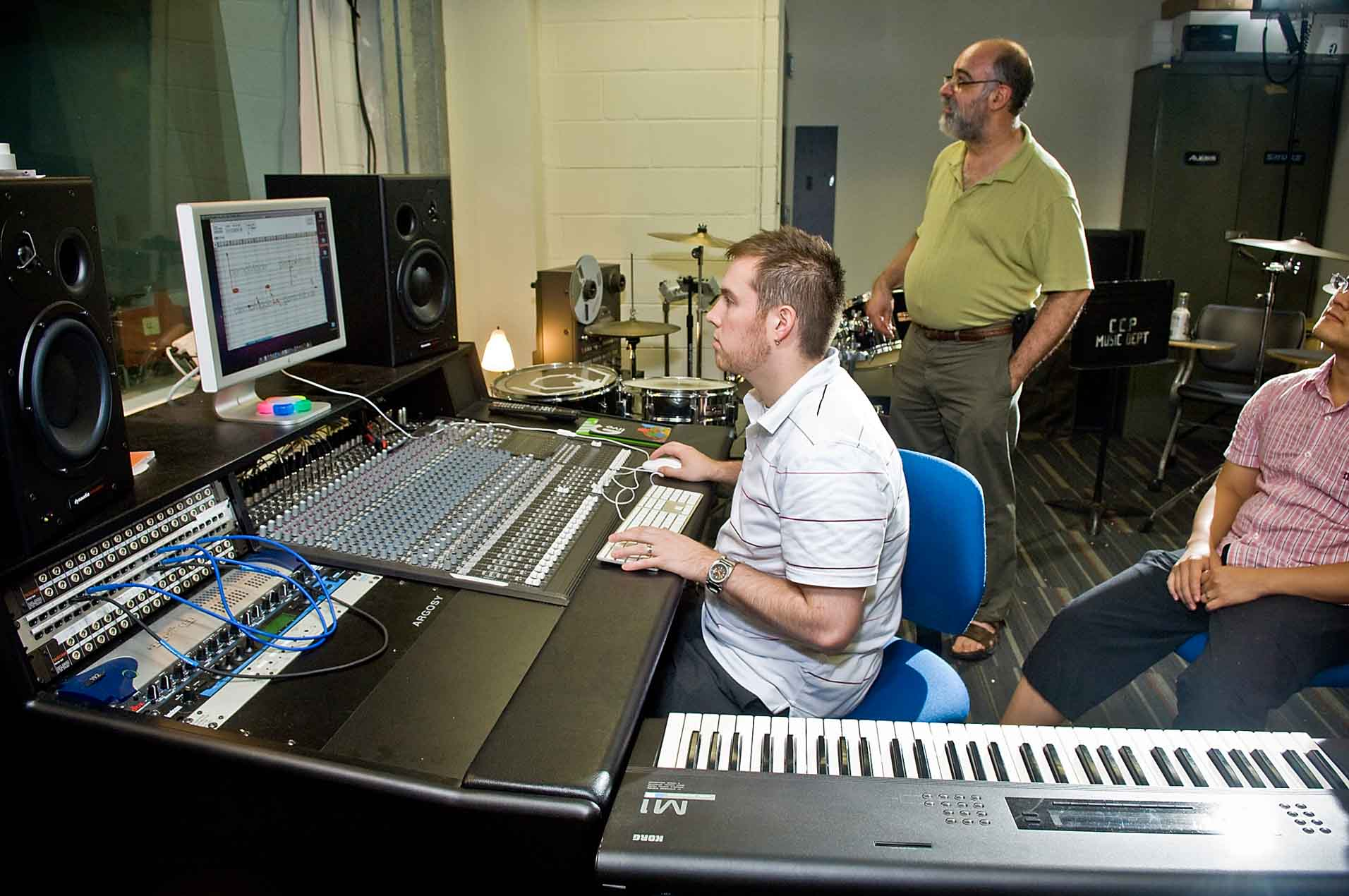 Sound Recording and Music Technology | Community College