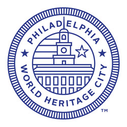 graphic seal - Philadelphia World Heritage City