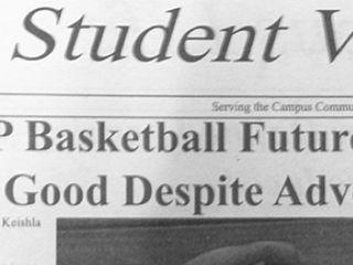 Photo of the student newspaper