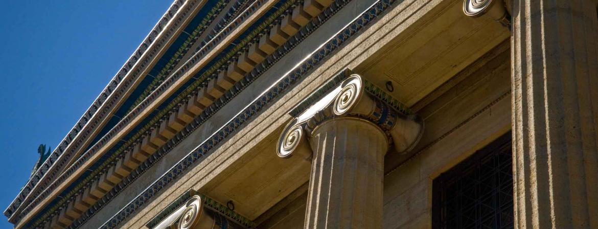 Philadelphia Museum of Art building.