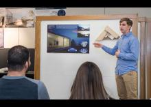 Students learning about architecture in CCP class.