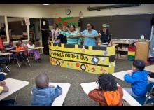 CCP students teaching in early education program.