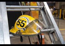 Helmet in Fire Science program at CCP.